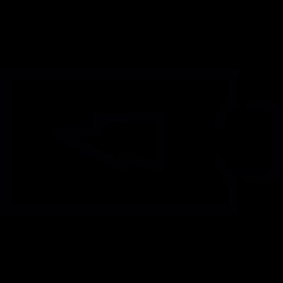 Charging battery vector logo