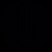 Paperclip Button vector