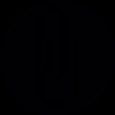 Paperclip Button vector logo