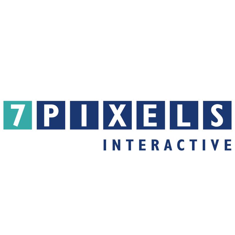 7 Pixels Interactive vector