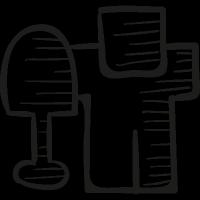 Digg Draw Logo vector