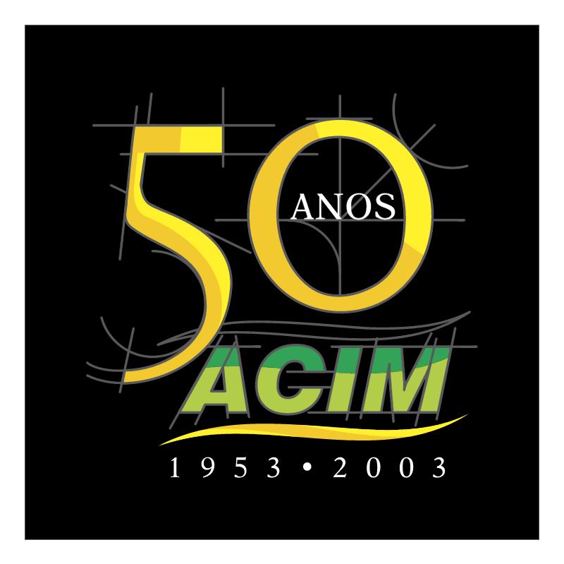 ACIM 50 Anos vector