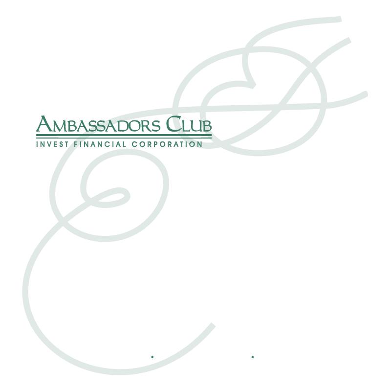 Ambassadors Club 5730 vector