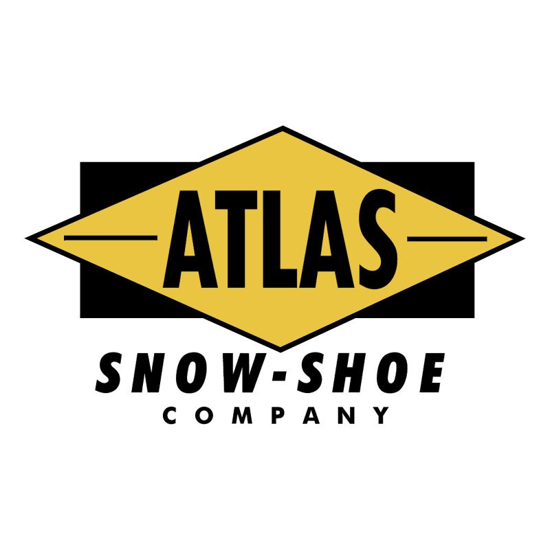 Atlas Snow Shoe vector logo