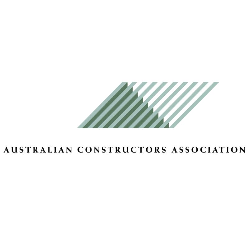 Australian Constructors Association 29206 vector