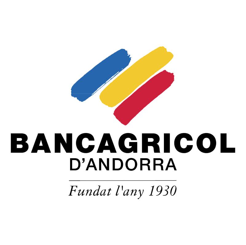 Bancagricol D'Andorra 40411 vector