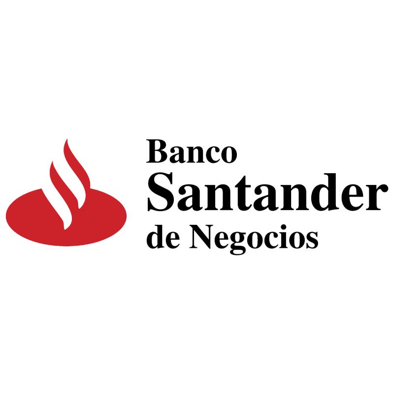 Banco Santander vector