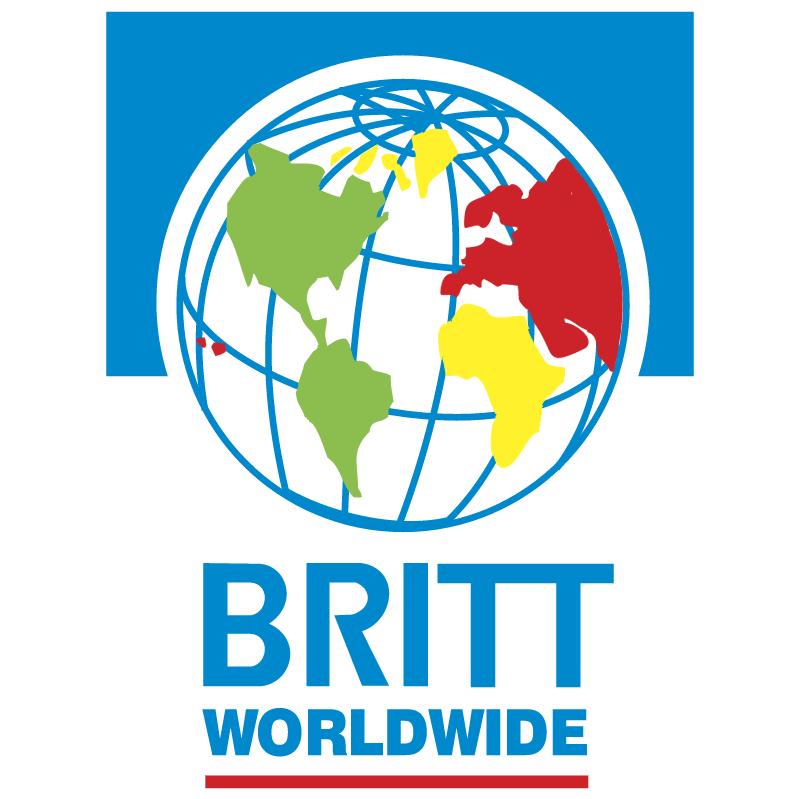 Britt Worldwide vector