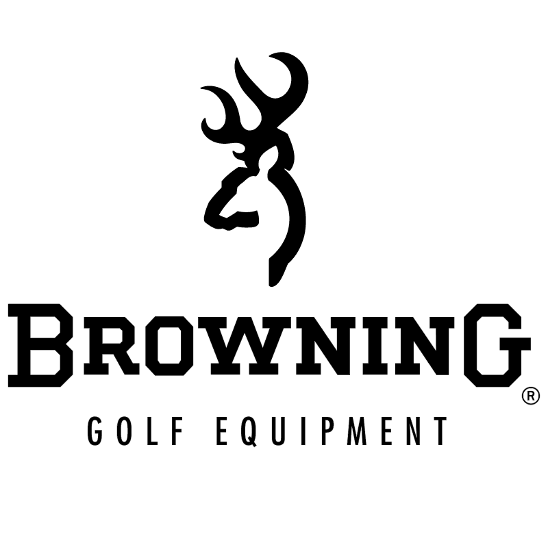 Browning Golf Equipment vector