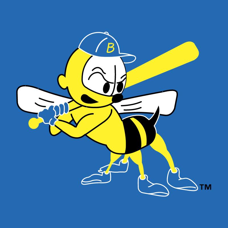 Burlington Bees 58437 vector logo
