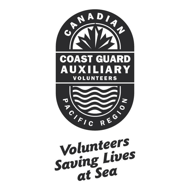 Canadian Coast Guard Auxiliary vector