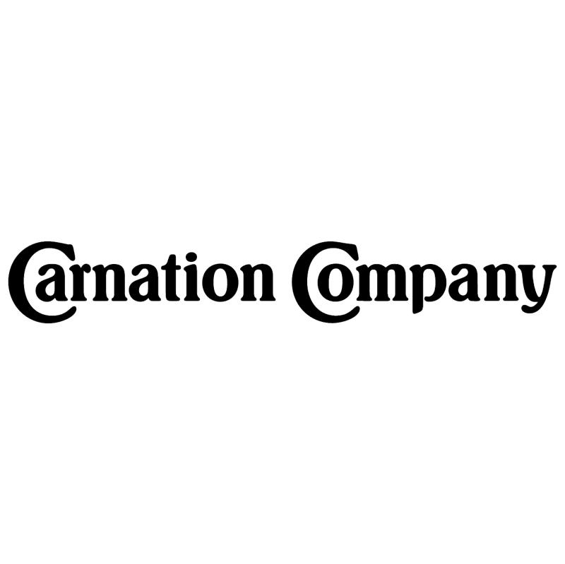 Carnation Company vector logo