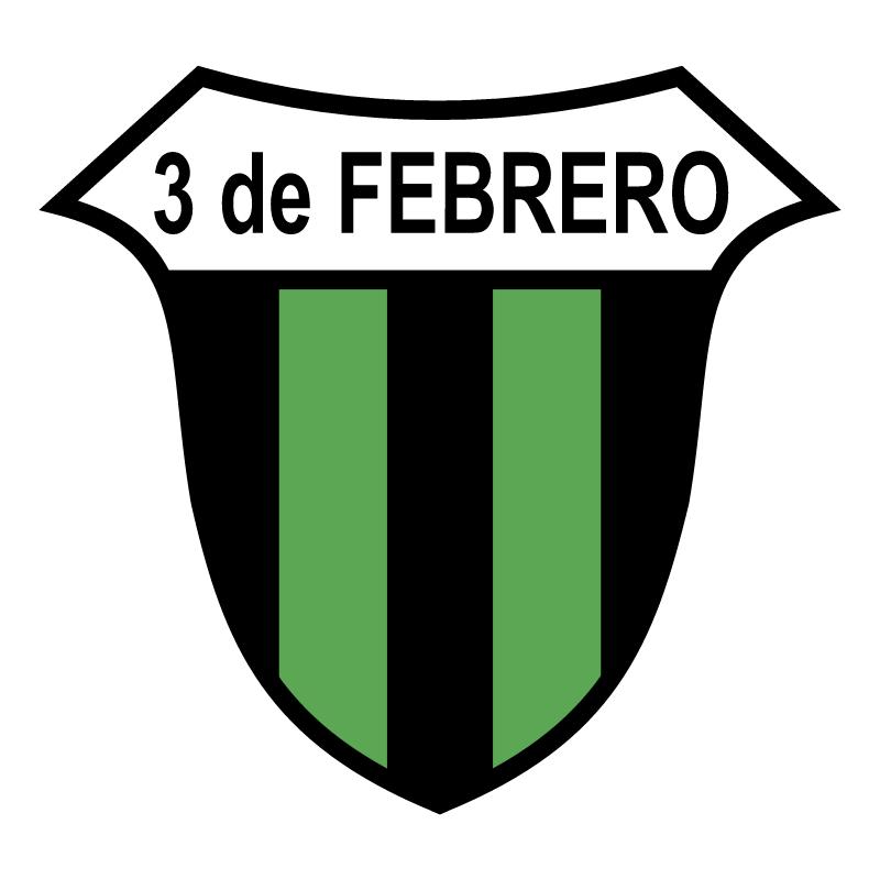 Club 3 de Febrero de Ciudad del Este vector logo