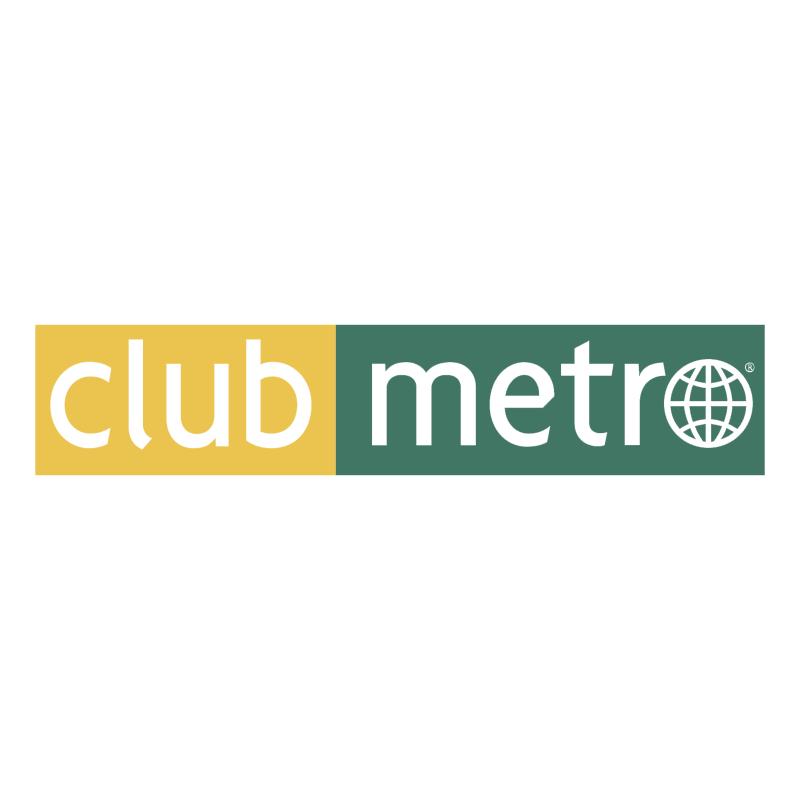 Club Metro vector