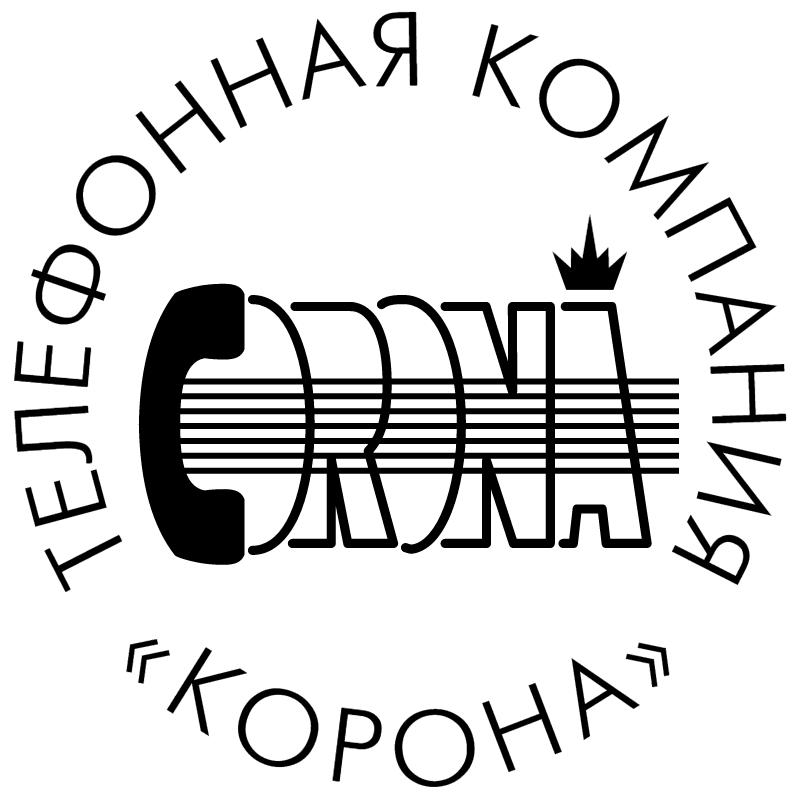 Corona Phone Company vector