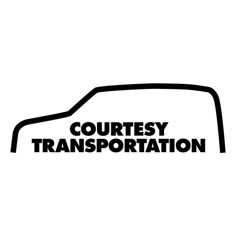 Courtesy Transportation vector logo