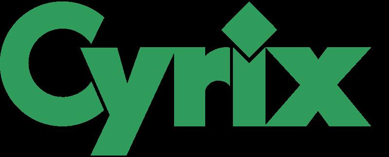 CYRIX 1 vector logo
