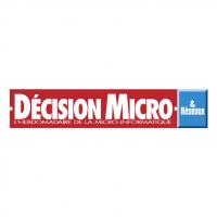 Decision Micro & Reseaux vector