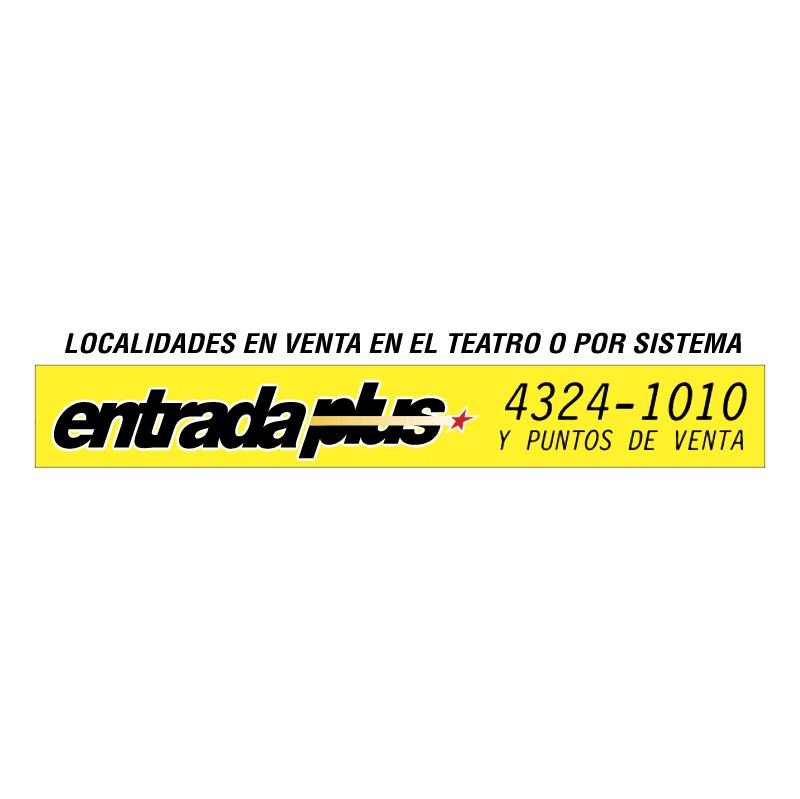 Entrada Plus vector logo