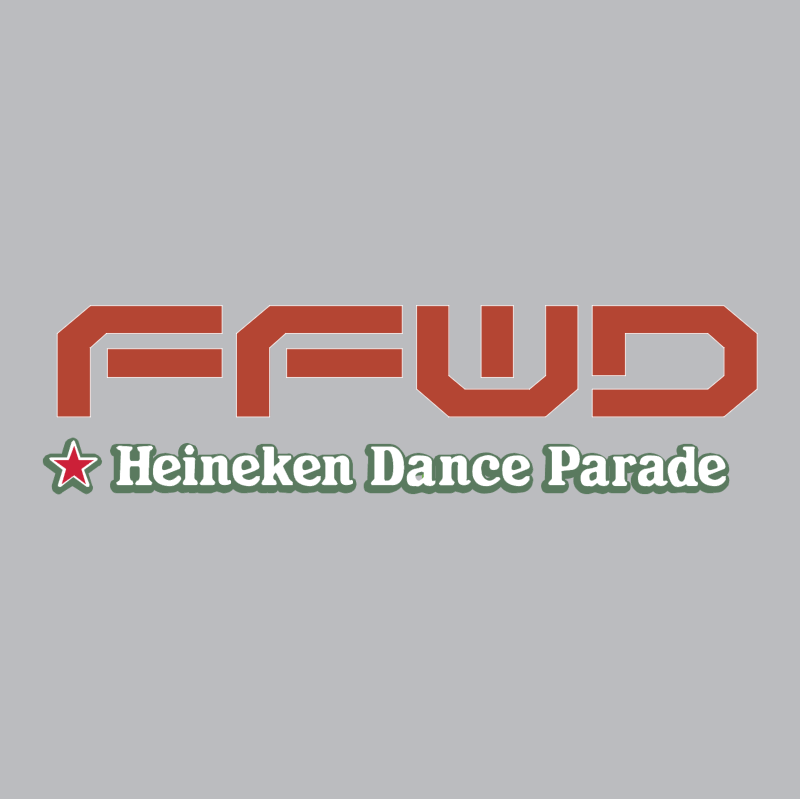 FFWD Heineken Dance Parade vector logo