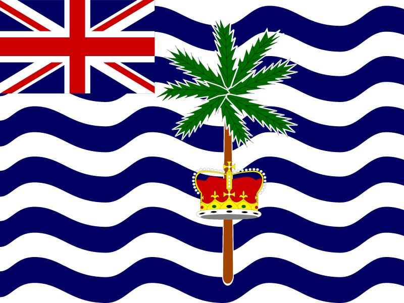 Flag of British Indian Ocean Territory vector