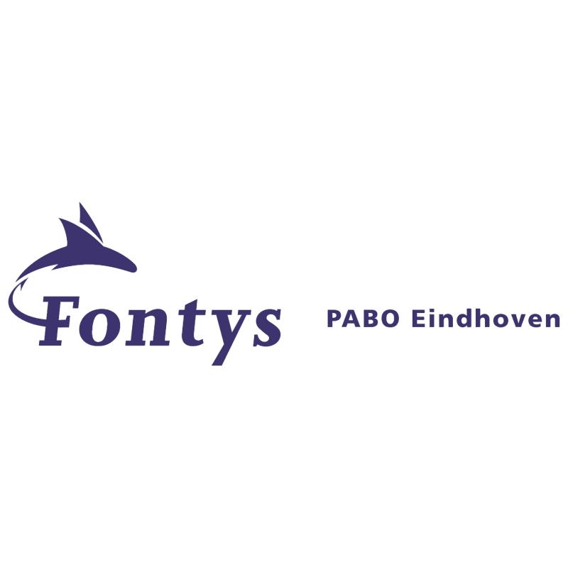 Fontys PABO Eindhoven vector logo