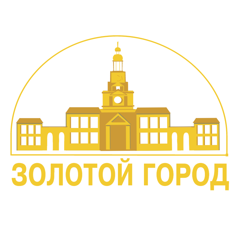 Gold Town vector