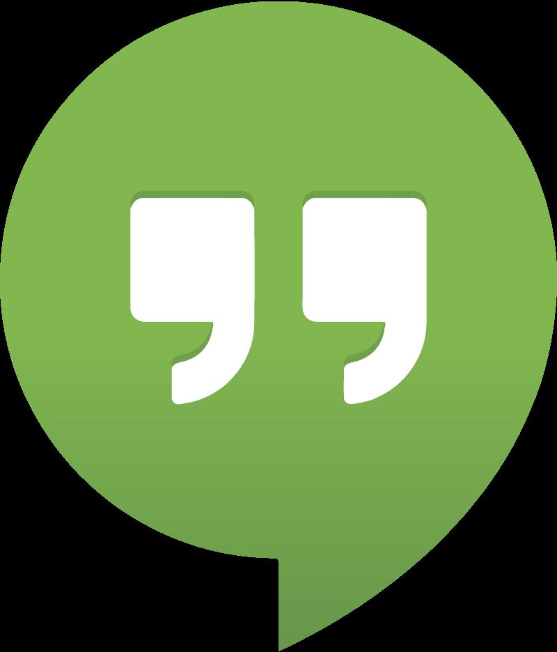 Google Hangouts vector
