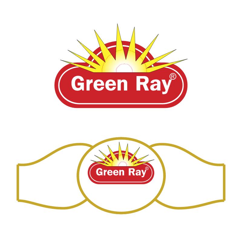 GreenRay vector logo
