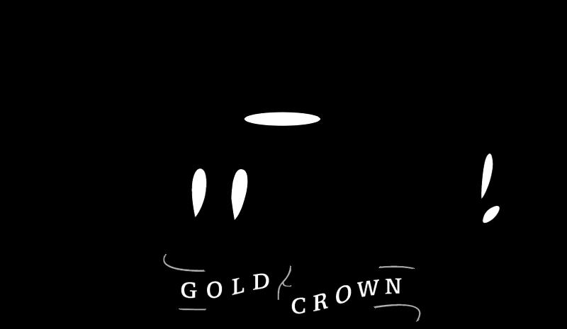 Hallmark Gold Crown vector