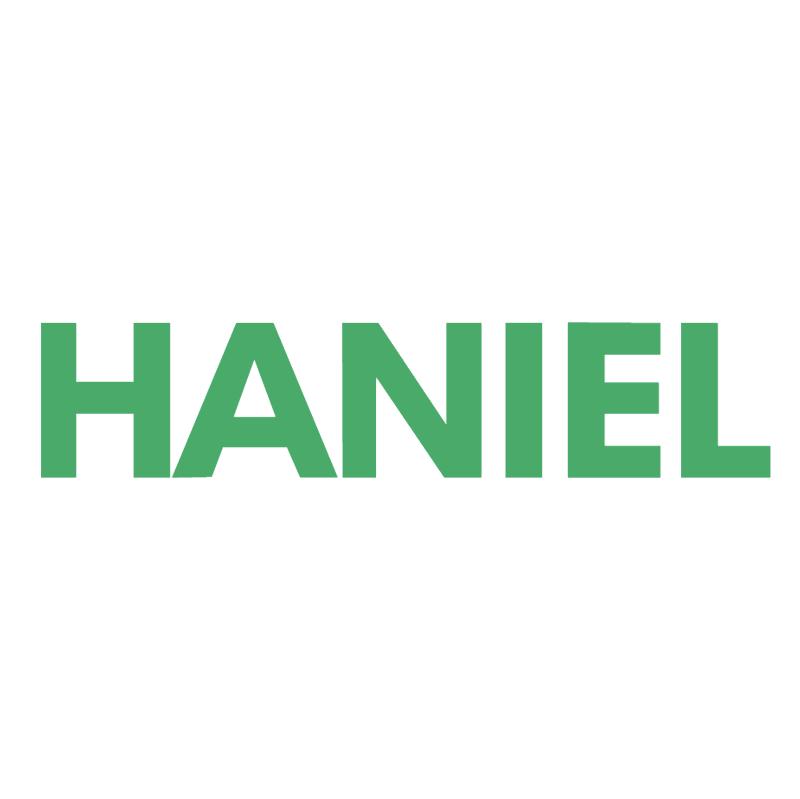 Haniel Textile Service vector logo