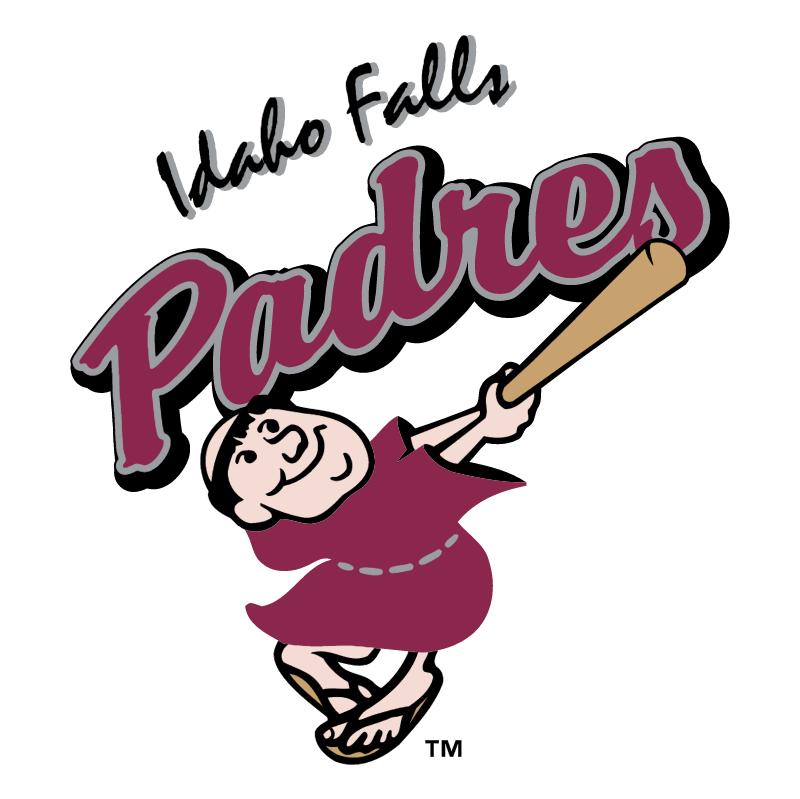 Idaho Falls Padres vector
