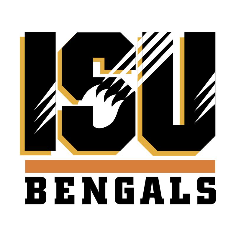 ISU Bengals vector logo