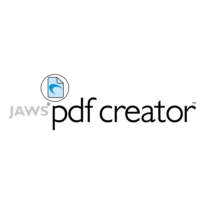 Jaws PDF Creator vector