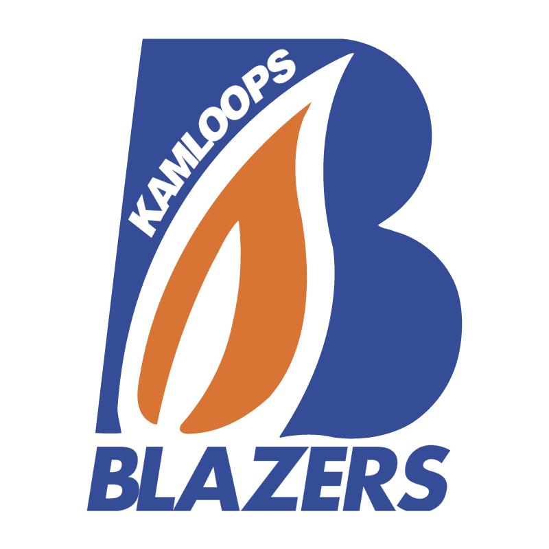 Kamloops Blazers vector