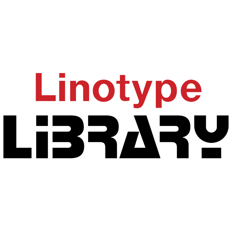 Linotype Library vector