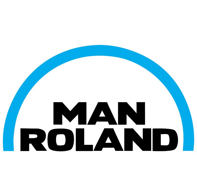 Man Roland vector