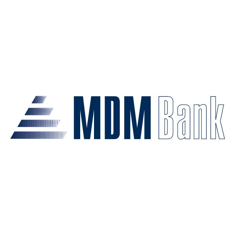 MDM Bank vector