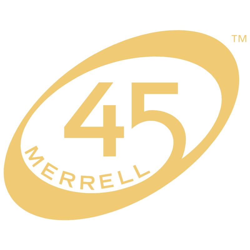 Merrell 45 vector