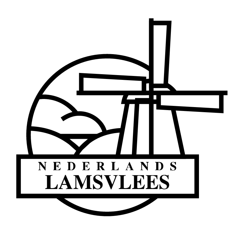 Nederlands Lamsvlees vector logo