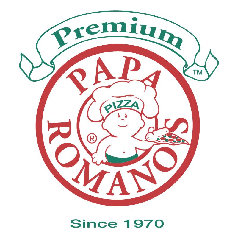 Papa Romano's Pizza vector