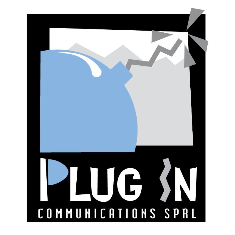 Plug In Communications vector logo