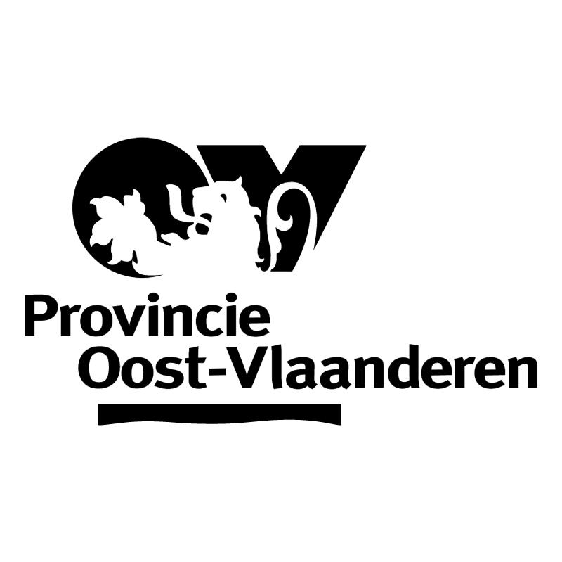 Provincie Oost Vlaanderen vector