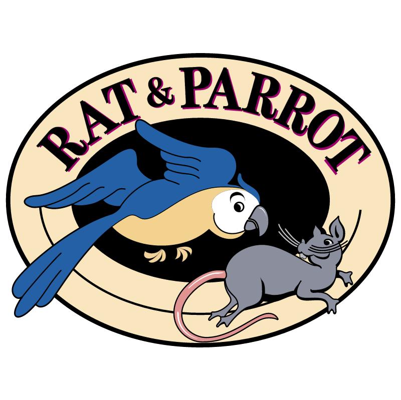 Rat & Parrot vector