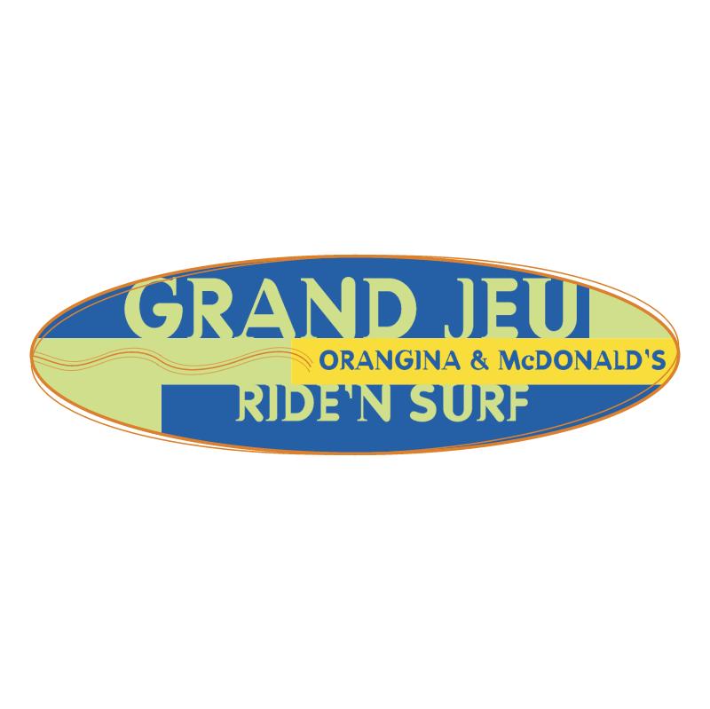 Ride'n Surf Grand Jeu vector