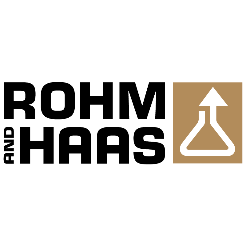Rohm and Haas vector logo