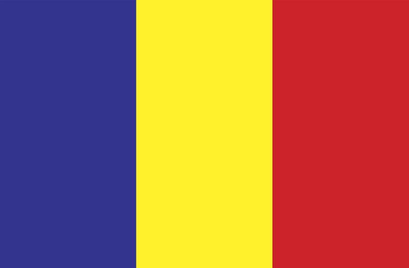Romania vector logo