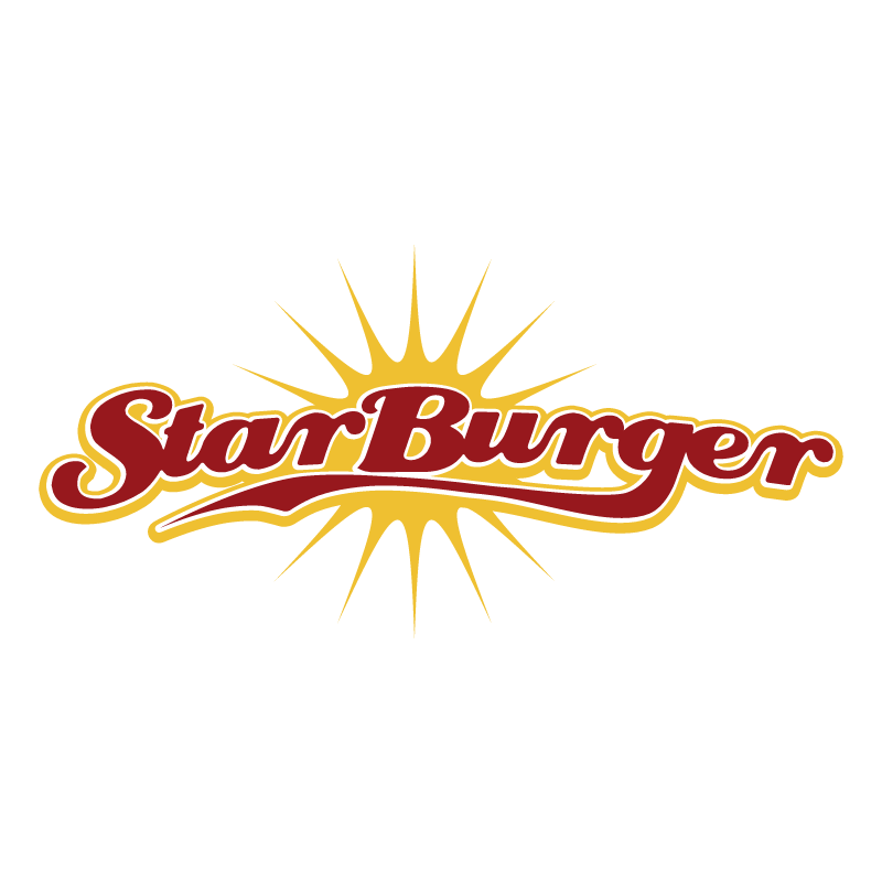 Star Burger vector
