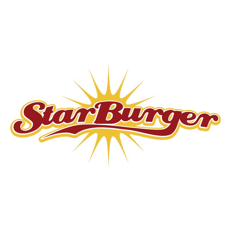 Star Burger vector