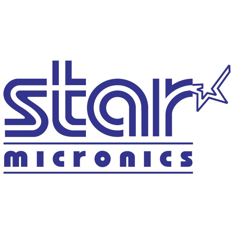 Star Micronics vector